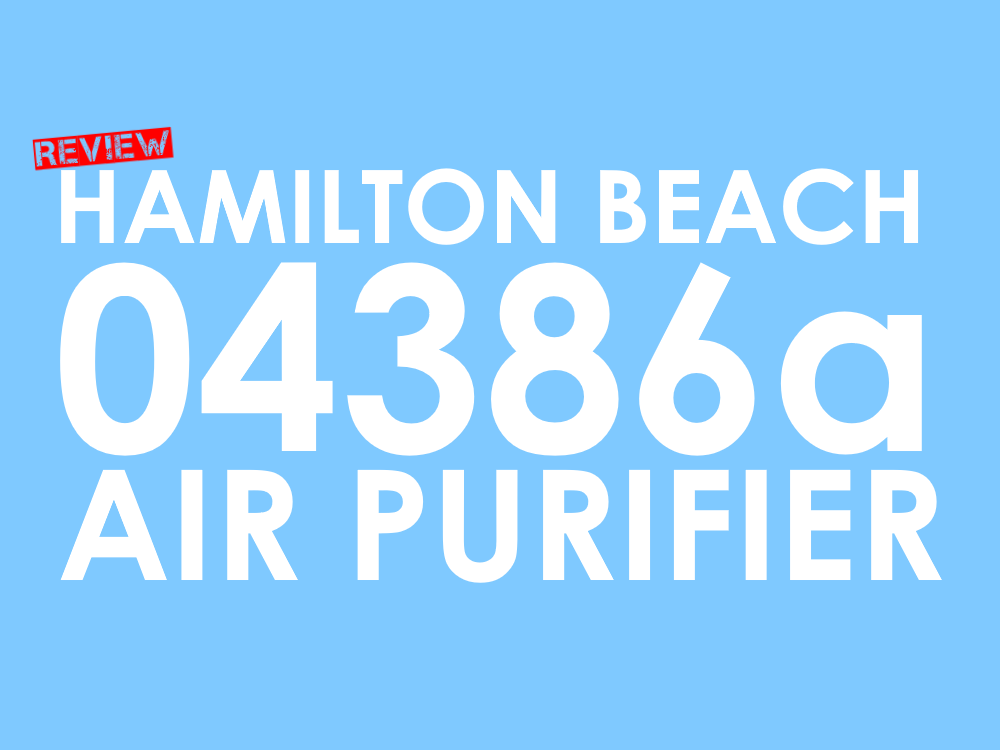 Hamilton Beach 04386a Review